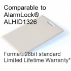 Clamshell Proximity Card - AlarmLock® ALHID1326 Compatible