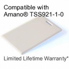 Clamshell Proximity Card - 125khz Amano® Compatible