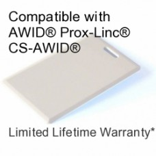 Clamshell Proximity Card - DSX® 33bit for AWID®