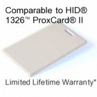 Clamshell Proximity Card - DSX® 33bit D10202