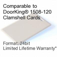Clamshell Proximity Card - DoorKing® 1508-120 Compatible