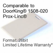 Clamshell Proximity Card - DoorKing® 1508-020 Compatible