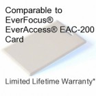 Clamshell Proximity Card - Everfocus® EAC-200 Compatible