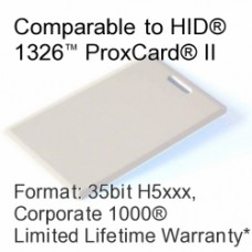 Clamshell Proximity Card - Corporate 1000®