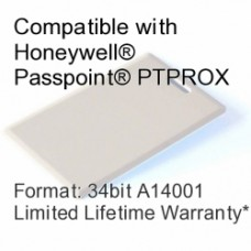 Clamshell Proximity Card - Passpoint® Compatible, 34bit A14001