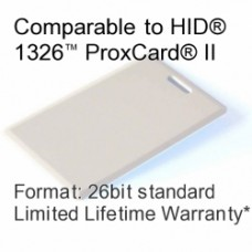 Clamshell Proximity Card - IEI®/Linear® 125khz Compatible