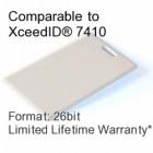Clamshell Proximity Card - XceedID® 7410 Compatible