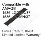 Printable Composite Proximity Card with Magnetic Stripe - 37bit S10401