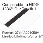 Printable Proximity Card with Magnetic Stripe - ADT® A901058A