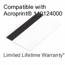 Printable Proximity Card with Magnetic Stripe - Acroprint 140124000 Compatible