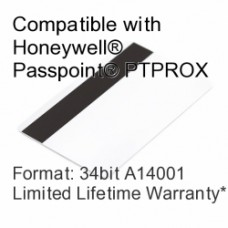 Printable Proximity Card with Magnetic Stripe - Passpoint® Compatible, 34bit A14001