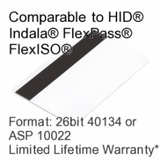 Printable Proximity Card with Magnetic Stripe - 26bit 40134/ASP10022