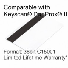 Printable Proximity Card with Magnetic Stripe - Keyscan® Compatible, 36bit C15001