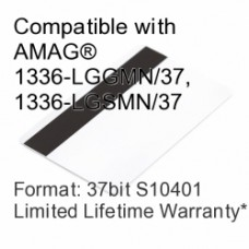 Printable Proximity Card with Magnetic Stripe - 37bit S10401