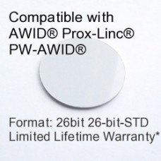 Peel and Stick Proximity Tag - AWID® 26bit