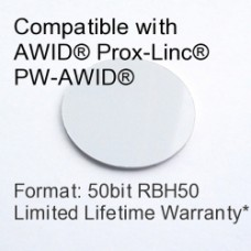 Peel and Stick Proximity Tag - AWID® RBH® 50bit