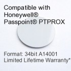 Peel and Stick Proximity Tag - Passpoint® Compatible, 34bit A14001
