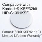Peel and Stick Proximity Tag - Kantech® KSF/32bit HID-C1391KSF Compatible