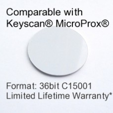 Peel and Stick Proximity Tag - Keyscan® Compatible, 36bit C15001