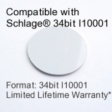 Peel and Stick Proximity Tag - Schlage® Compatible, 34bit I10001