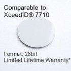 Peel and Stick Proximity Tag - XceedID® 7710 Compatible