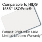 Printable Composite Proximity Card - 26bit A901146A