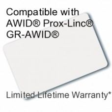 Printable Composite Proximity Card - DSX® 33bit for AWID®