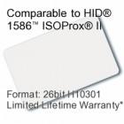 Printable Composite Proximity Card - 26bit H10301