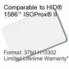 Printable Composite Proximity Card - 37bit H10302