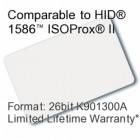 Printable Composite Proximity Card - 26bit K901300A