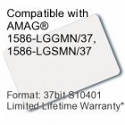 Printable Composite Proximity Card - 37bit S10401