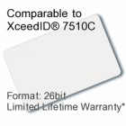 Printable Composite Proximity Card - XceedID® 7510C Compatible