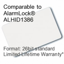 Printable Proximity Card - AlarmLock® ALHID1386 Compatible