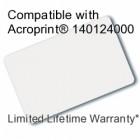 Printable Proximity Card - Acroprint 140124000 Compatible