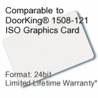 Printable Proximity Card - DoorKing® 1508-121 Compatible