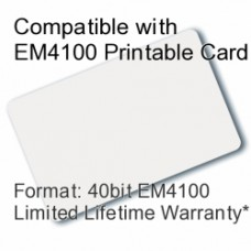 Printable Proximity Card - EM4100 Compatible