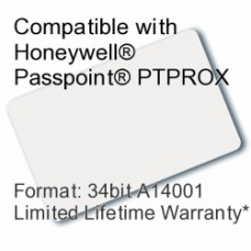 Printable Proximity Card - Passpoint® Compatible, 34bit A14001