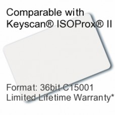 Printable Proximity Card - Keyscan® Compatible, 36bit C15001