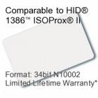 Printable Proximity Card - 34bit N10002