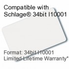 Printable Proximity Card - Schlage® Compatible, 34bit I10001