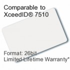 Printable Proximity Card - XceedID® 7510 Compatible