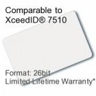 Printable Proximity Card - XceedID® 7510 Compatible