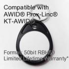 Proximity Keyfob - AWID® RBH® 50bit