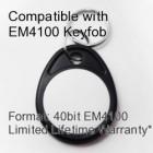Proximity Keyfob - EM4100 Compatible