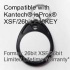 Proximity Keyfob - Kantech® ioProx® XSF/26bit P40KEY Compatible